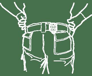 SAFE SPACER indossabile in cintura